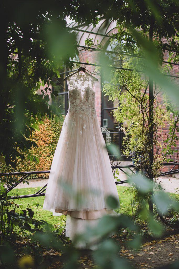 Vintage bruidsjurk